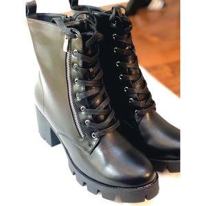 🖤Black Faux Leather Boots🖤